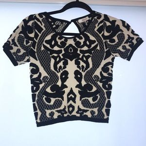 Lucy Paris cropped top